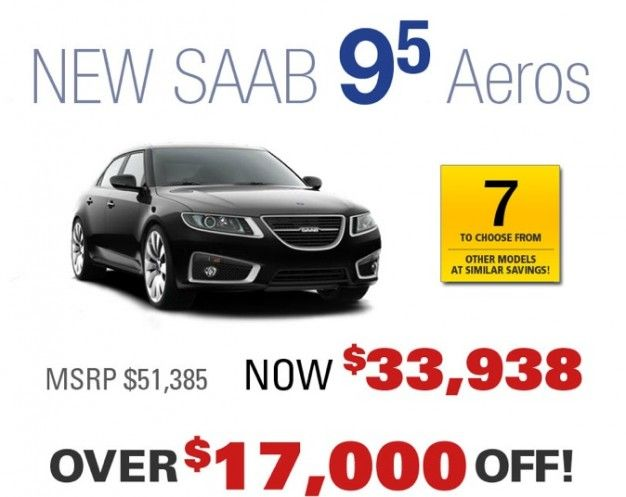 With Saab in Bankruptcy, Here's How Dealers are Handling Discounts and Warranties