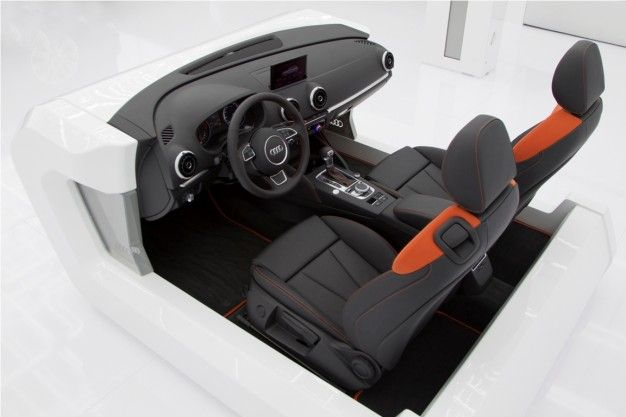 Audi Shows 2013 A3 Interior at CES