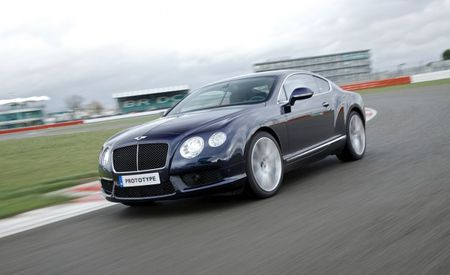 2013 Bentley Continental GT Coupe and GTC Convertible V8 Eke Out EPA-Rated 24 MPG Highway