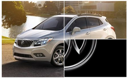 2013 Buick Encore Crossover Mostly Unveiled Ahead of Full Reveal in Detroit