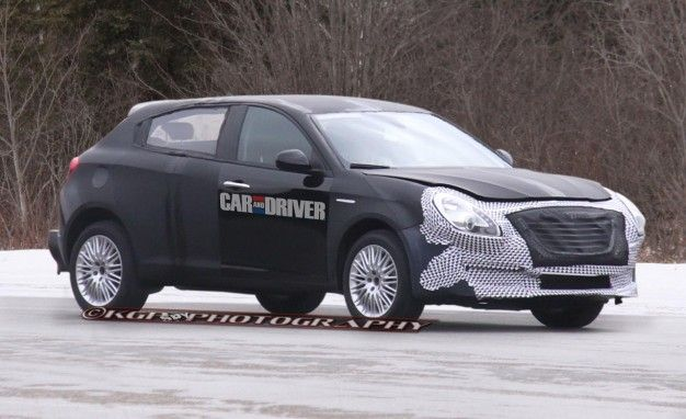 Marchionne: Chrysler C-Segment Hatch Back On, Could Be Called 100 [Updated with Spy Photos]