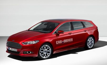 2014 Ford Mondeo Wagon Rendered: We'll Take It as a Fusion