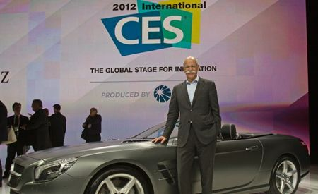 2012 Mercedes CES Keynote: Second-Generation mbrace Infotainment System, Future Gesture-Based DICE Controls