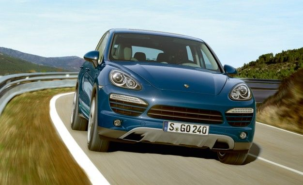 Porsche to Offer V8-Powered Cayenne S Diesel in Europe, But Not U.S.