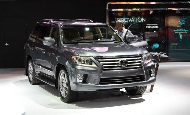 Mildly Updated 2013 Lexus LX570 is Second Product to Wear New Spindle Grille, Priced from $81,505