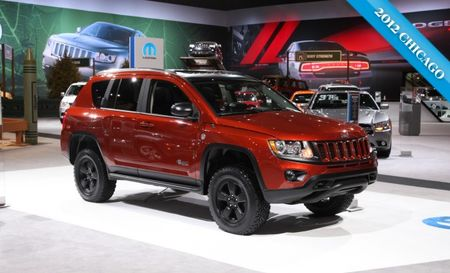 Mopar Jeep Compass True North Concept Almost Looks Ready to Go Off-Road