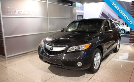 2013 Acura RDX Introduced Again, This Time in Chicago and For Real [Chicago Auto Show]