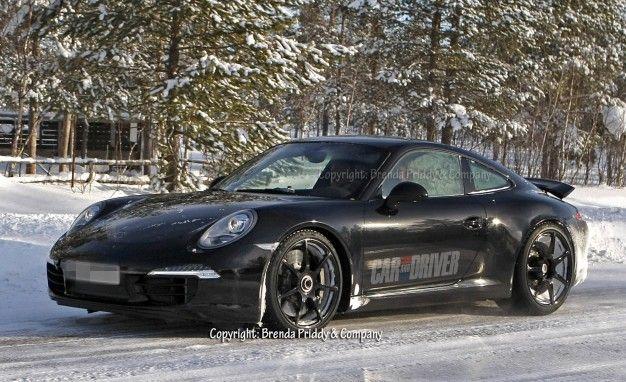 Spied: 2013 Porsche 911 GT3