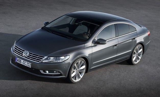 Volkswagen Prices 2013 CC Sedan From $31,430, Top Trim Costs $42,240