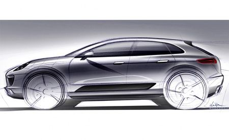 "Cajun No More: Porsche Officially Names Upcoming Compact Crossover ""Macan,"" Releases Sketch"