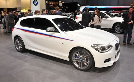 BMW M135i Concept Previews M Performance 1-series, Refreshed Three-Door Hatch for Europe [Geneva Auto Show]