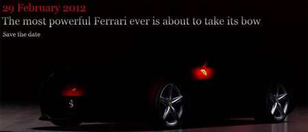 Ferrari Previews 599 Replacement with Video [Geneva Auto Show] [Updated]