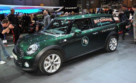 Mini Clubvan Concept Takes Clubman to Cargo Town [Geneva Auto Show]