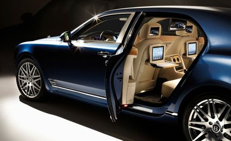 2013 Bentley Mulsanne Executive Interior Brings Screens, iPads [Geneva Auto Show]