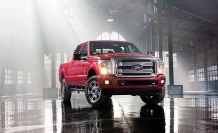 2013 Ford F-series Super Duty Adds Platinum Model, MyFord Touch