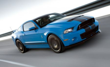 Ford Details Launch Control for 2013 Shelby GT500