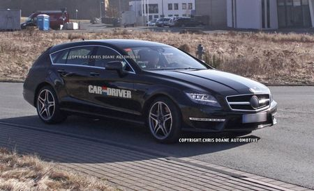 Mercedes-Benz CLS63 AMG Shooting Brake Spied, Drooled Over