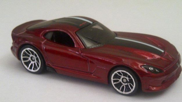 2013 SRT Viper Potentially Previewed by a Toy, Again [New York Auto Show]