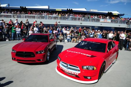 2013 Dodge Charger NASCAR Sprint Cup Car Unveiled