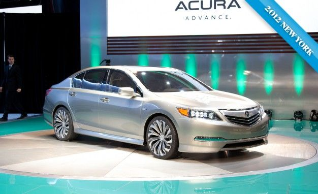 Acura Will Debut New RLX Flagship Sedan in NYC [New York Auto Show]