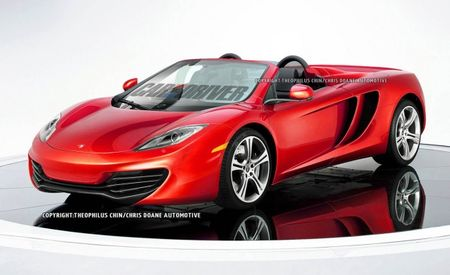 McLaren's Future: MP4-12C Spider This Year, V-8 Engine in Range of Future Products