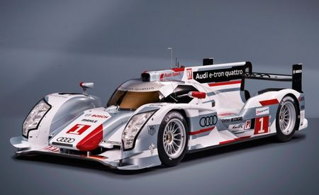 Audi Unveils R18 e-tron Quattro and Upgraded R18 Ultra Le Mans Prototypes