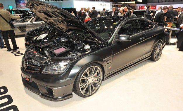 Mercedes C63–Based Brabus Bullit Coupe 800 Burns Rubber and Sanity [Geneva Auto Show]