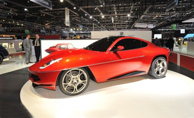 Touring Superleggera Celebrates 1950s Alfa Romeo Disco Volante with 8C-Based Concept [Geneva Auto Show]