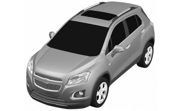 European Patent Filing Reveals Possible Chevrolet-Badged Buick Encore/Opel Mokka Crossover