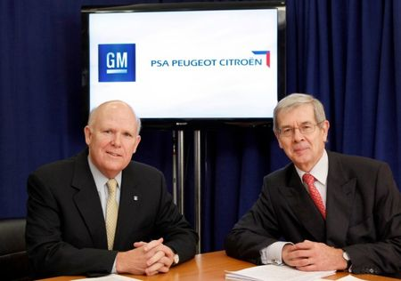 GM Mulling Opel and PSA Peugeot Citroën Merger