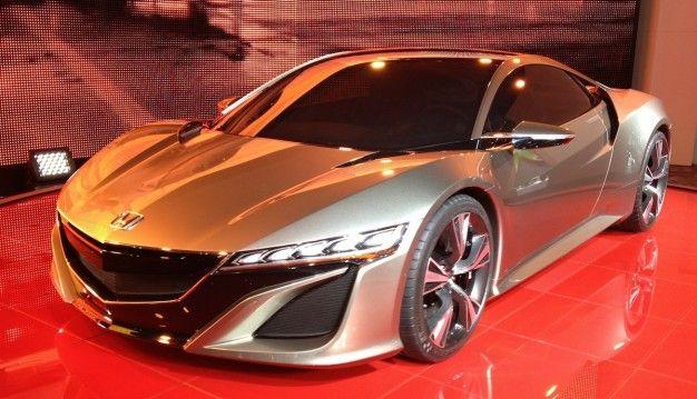 Honda NSX Concept is Acura NSX Concept with Less Beak [Geneva Auto Show]