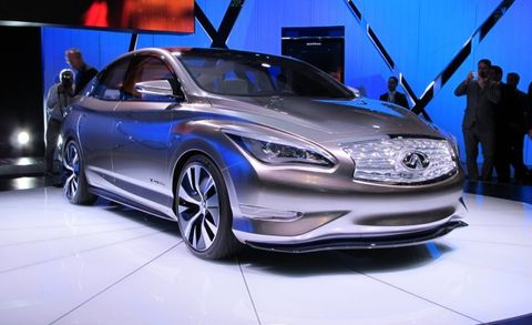 Nissan Delays Infiniti's Electric Car to Add New Features