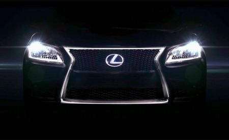 2013 Lexus LS (Plus 2013 ES and 2014 IS) Previewed in Video: Hello Spindle Grille
