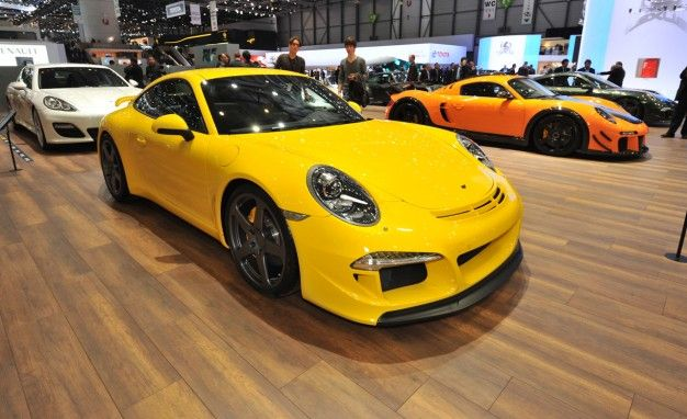 Ruf Reveals 991-Based RGT-8 V8-Powered Porsche 911, Stretched Panamera [Geneva Auto Show]