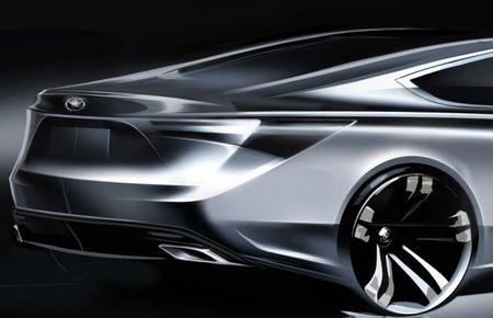 Toyota Sketches Out 2013 Avalon [New York Auto Show]