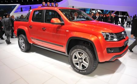Volkswagen Amarok Canyon Pickup Concept Debuts, Production Likely [Geneva Auto Show]