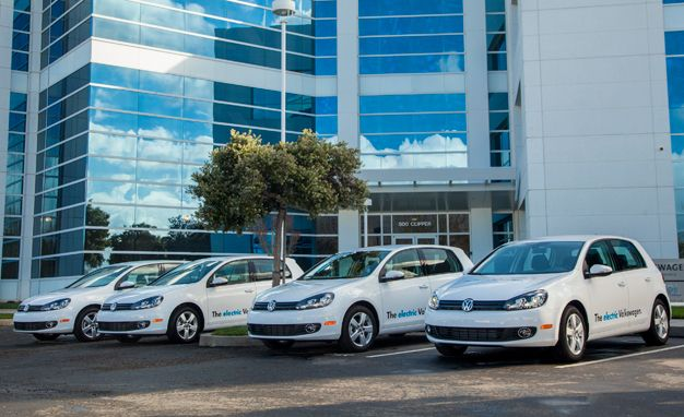 Volkswagen Announces Pilot Program of 20 Electric Golf Prototypes for U.S.
