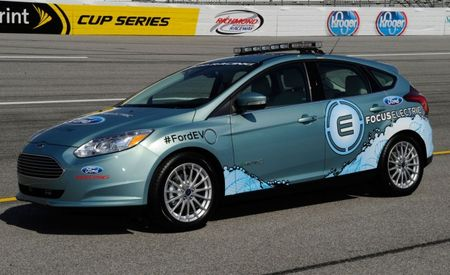 2012 Ford Focus Electric to Serve as NASCAR's First Electric Pace Car