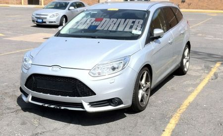 2013 Ford Focus ST Wagon Spied; Still Not Coming Here