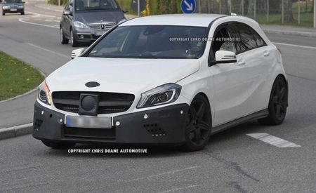 2013 Mercedes-Benz A-class AMG Spy Photos: Turbo Four and All-Wheel Drive