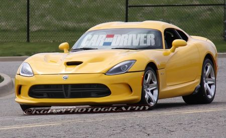 Hey, Look, a 2013 SRT Viper in Yellow [Spy Photos]