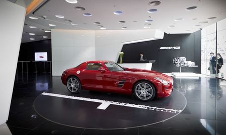 Mercedes Opens First AMG-Only Dealership in Beijing