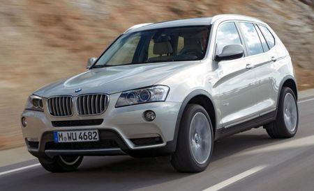 2013 BMW X3 xDrive28i Fuel-Economy Figures Released
