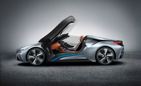 BMW i8 Roadster Happening, Along With a Plug-In Hybrid Mini, Improved i3 EV