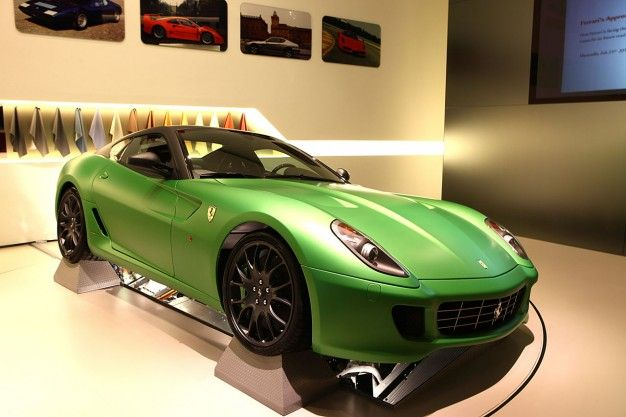 Ferrari Patents a Mostly Conventional Hybrid System, Not KERS