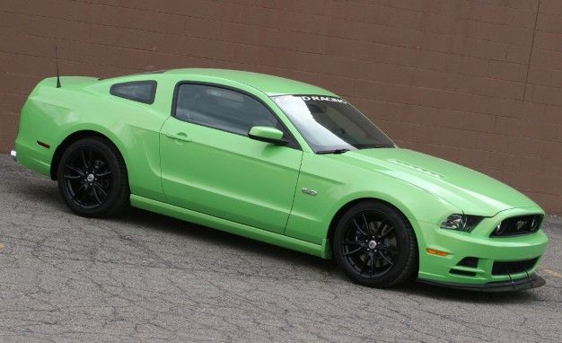 Ford Racing Creates 624-hp 2013 Mustang GT Project Car to Showcase Performance Parts