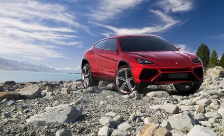 This is the Lambo SUV: Urus Concept Breaks Cover Prior to Debut [Beijing Auto Show]