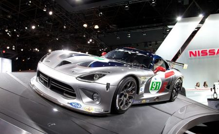 SRT Motorsports Debuts Latest Viper GTS-R Race Car for 2012 American Le Mans Series [New York Auto Show]