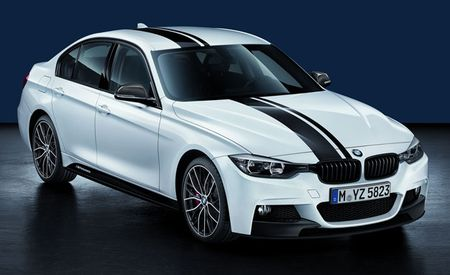 BMW Releases New M Performance Parts for 2012 3-series, 5-series