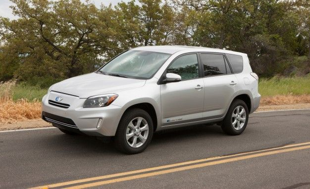 2012 Toyota RAV4 EV Photos and Info: The Tesla-fied Toyota for Californians